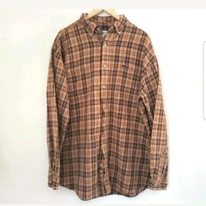Carhartt Plaid Flannel Shirt